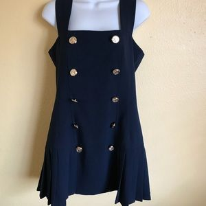 Mini Navy Dress